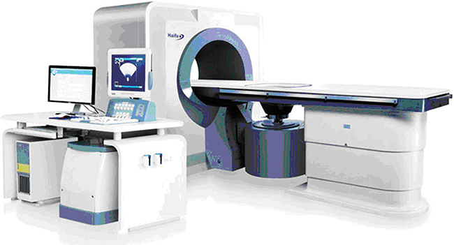 The high intensity ultrasonic JC tumor treatment system.