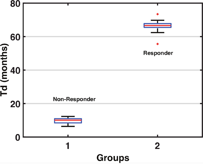 Tumor Doubling Time Group Classifications.
