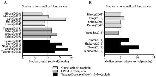 Prognosis after Nedaplatin-based chemotherapy.