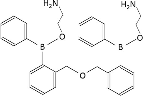 Chemical structure of DPB-161.