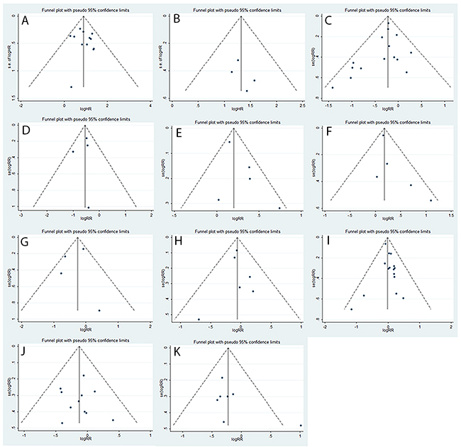 Assessment of publication bias using funnel plot analysis.