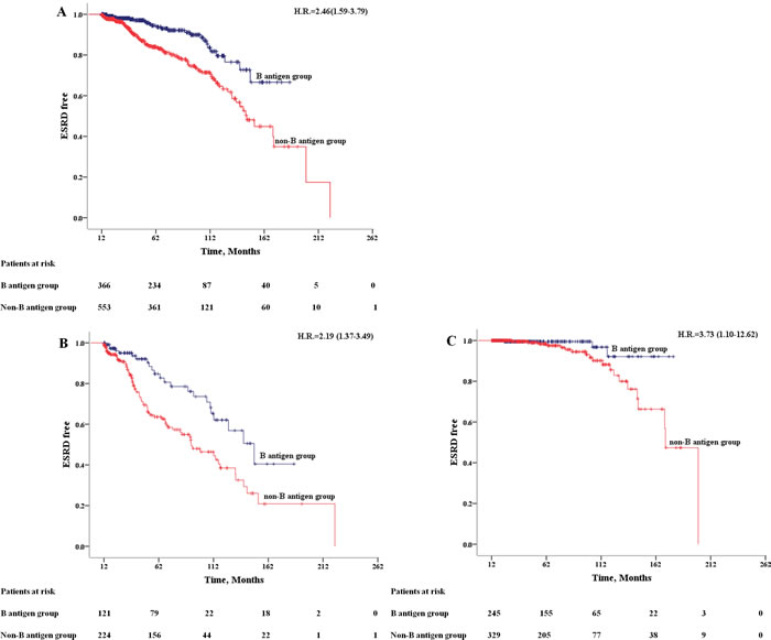 Kaplan-Meier Outcome-free Survival Curves.