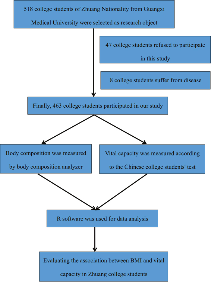 Study population flow chart.