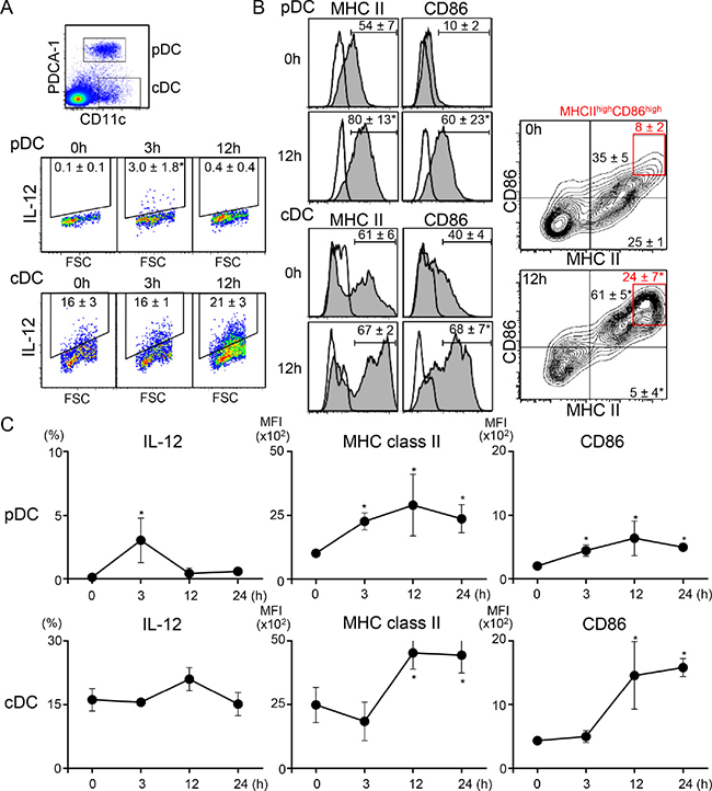 Systemic administration of low-dose resiquimod induces activation of both types of DCs.