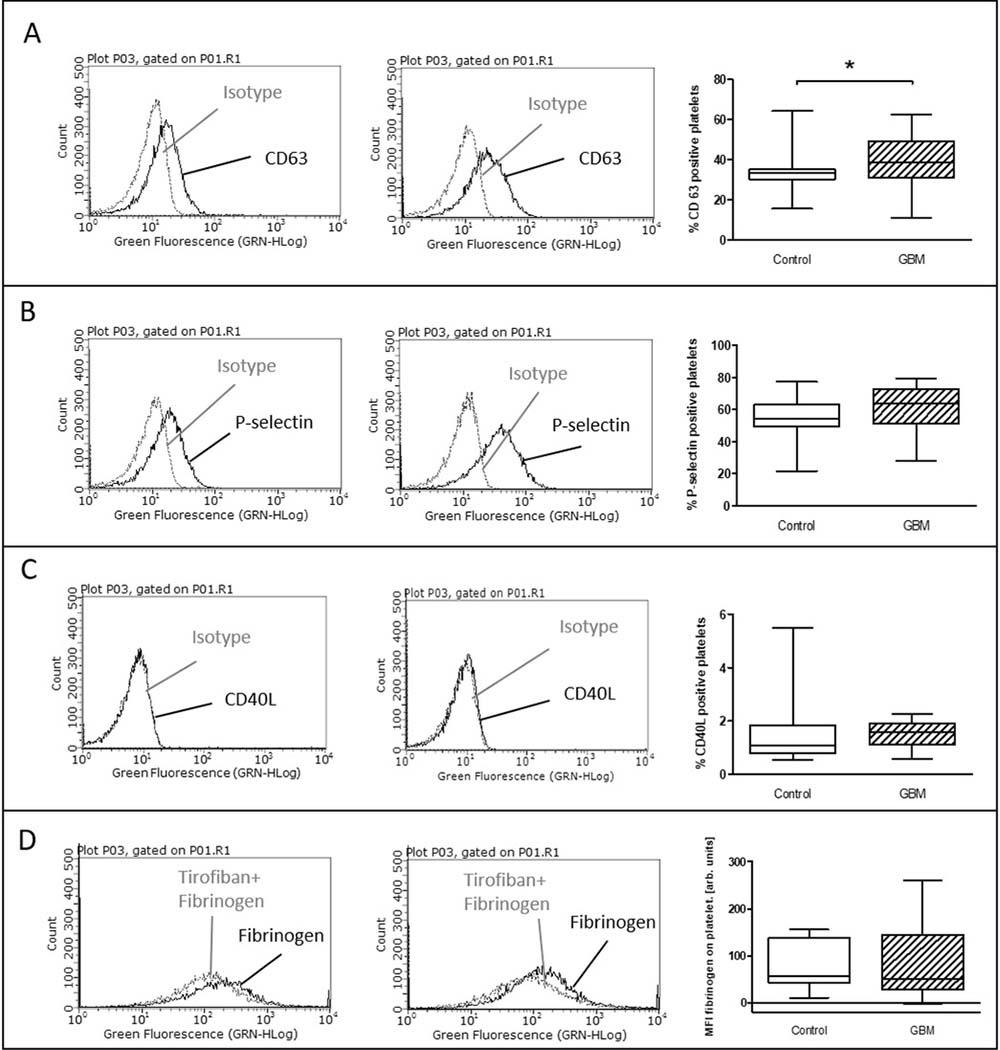 Ex vivo stimulation with TRAP in glioblastoma patients and control individuals.