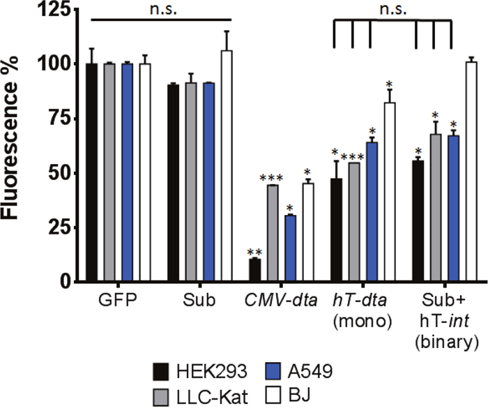 DTA toxicity assay in vitro.