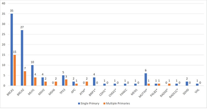 Pathogenic variants identified.