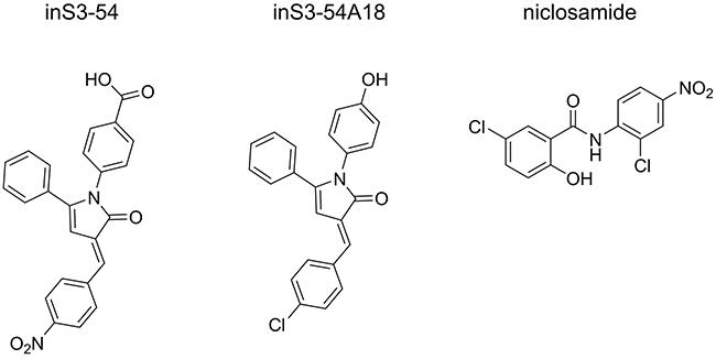 STAT3 DBD inhibitors.