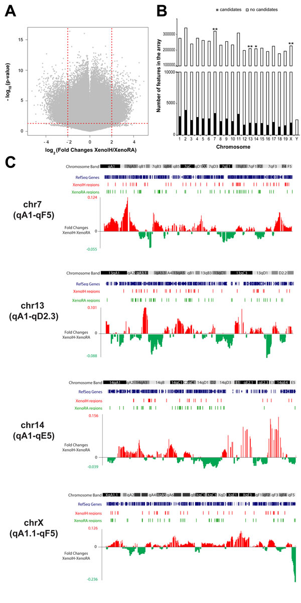 Large-scale cirDNA modification profiling using promoter microarrays.