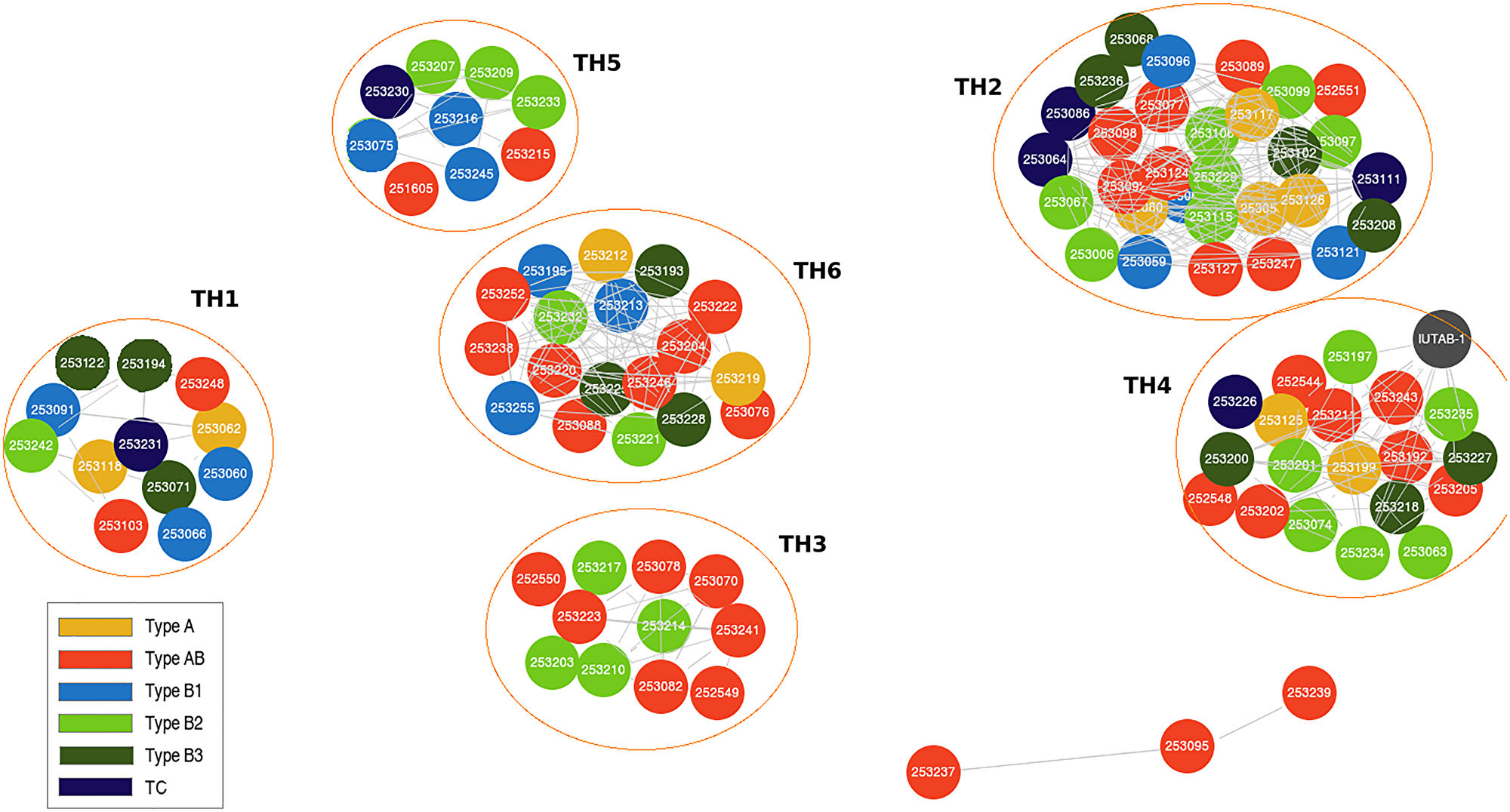 Genomic clustering approach identifies thymic epithelial tumor (TET) molecular subtypes that are independent of World Health Organization (WHO) histotypes.