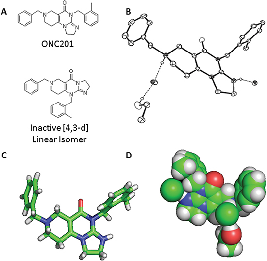 X-Ray crystal structure of ONC201.