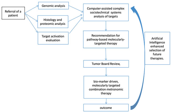 Pathway to combination targeted therapy design.