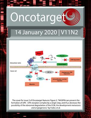 Journal Cover for Oncotarget V11N2