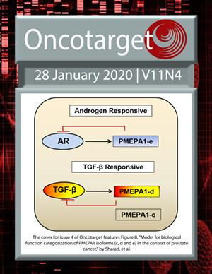 Journal Cover for Oncotarget V11N4