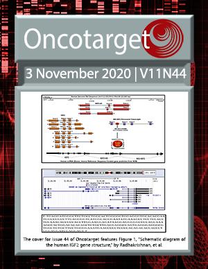 Journal Cover for Oncotarget V11N44