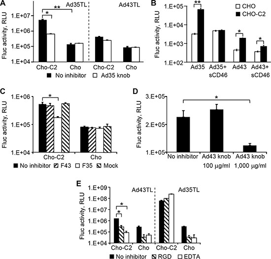 Ad43 uses CD46 and integrins as primary receptors.