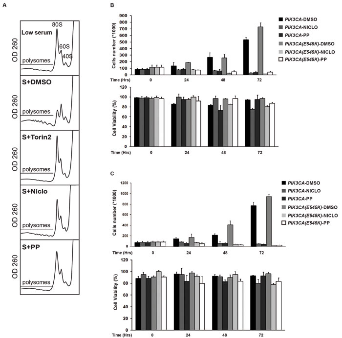 Anthelmintics inhibit oncogenic PI3K-dependent cellular phenotypes.
