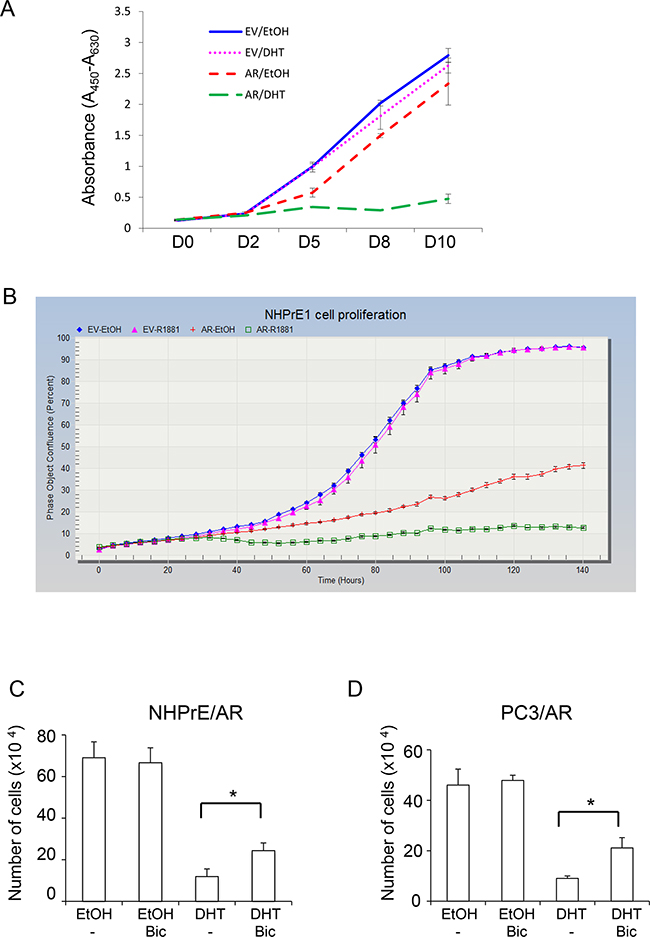 Androgen differentially regulated prostatic cell proliferation.