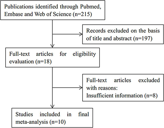 Study selection flow chart.