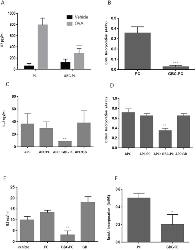 GBM conditioned pericytes reduce anti-tumor T cell responses.