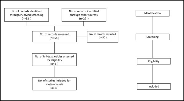 Selection process for randomized controlled trials included in the meta-analysis.