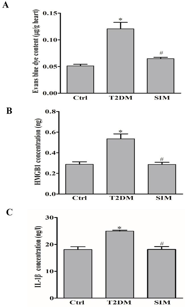Simvastatin prevented vascular hyperpermeability in rat myocardium.