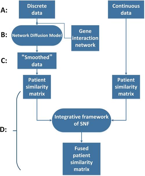 The flow chart of ndmaSNF.
