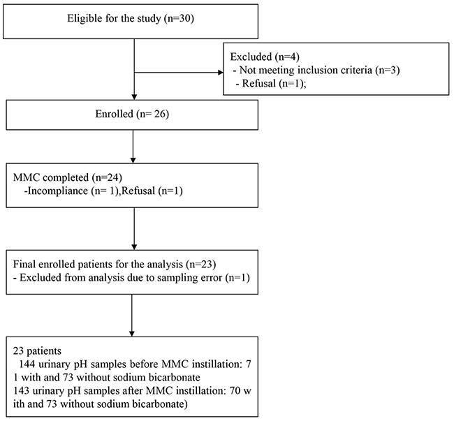 Flow chart of patient enrollment and analysis.