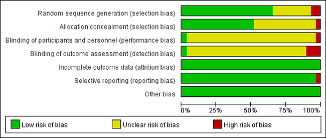 Risk of bias graph.