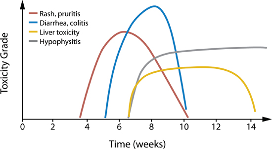 Kinetics of irAEs in ipilimumab-treated patients.