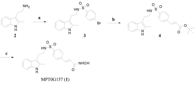 The synthesis of MPT0G157.