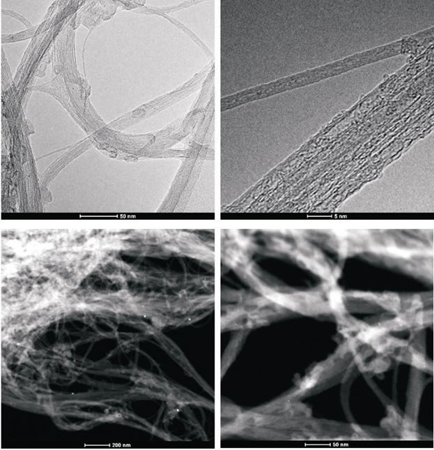 Figure 4A: High-resolution transmission electron microscopy and z-TEM images of the A0-o-C2-chem sample.