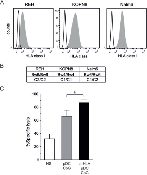 KIR/KIR-L blockade enhances NK cell cytotoxicity against pre-B ALL.