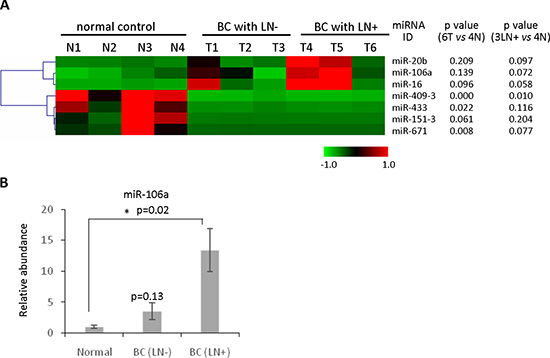 Identification of circulating miRNAs as novel biomarkers for detecting metastatic breast cancer.