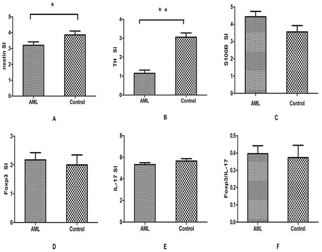 Results of immunohistochemical analysis.